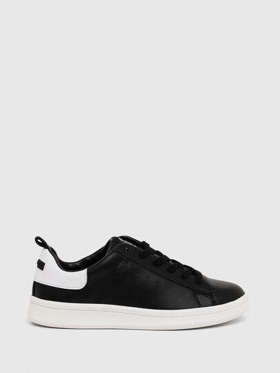 Diesel - SN LOW LACE 11 FULL, Black/White - Footwear - Image 1