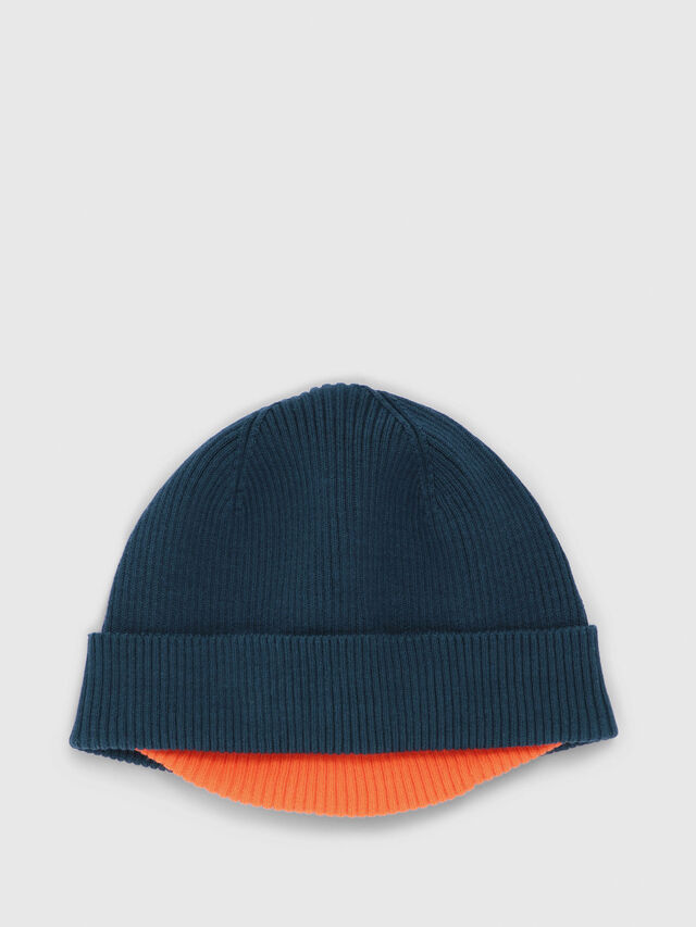 Diesel - K-DOBLY, Dark Green - Knit caps - Image 1