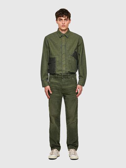 Diesel - D-Azerr JoggJeans® 069WH, Military Green - Jeans - Image 6