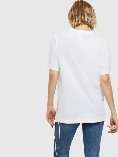 Diesel - T-HUSTY, White - T-Shirts - Image 5