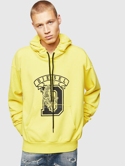 Diesel - S-ALBY-B8, Yellow - Sweaters - Image 1