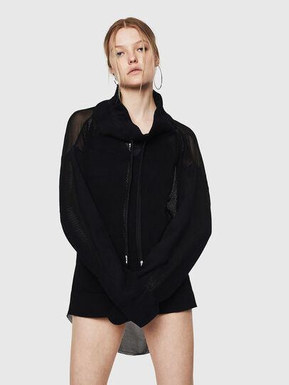 Diesel - M-TELY, Black - Knitwear - Image 4