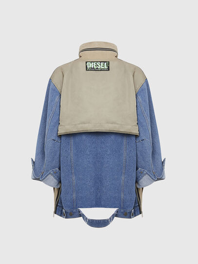Diesel - G-CLARICE, Beige/Blue - Jackets - Image 2
