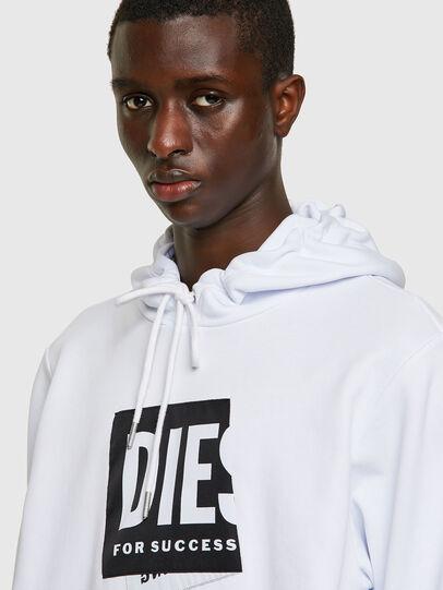 Diesel - S-GIRK-HOOD-LAB, White - Sweaters - Image 3