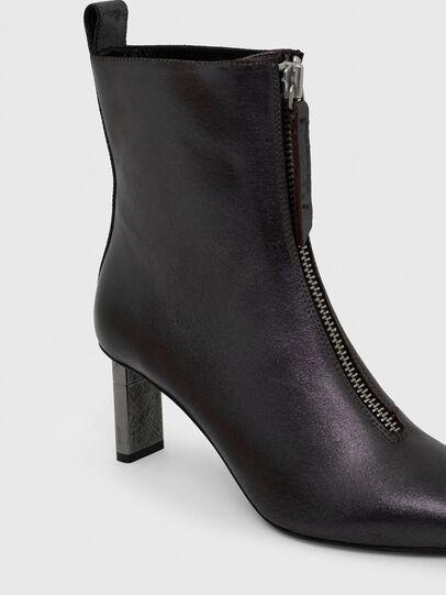 Diesel - D-LEZIPPO MAB, Dark Violet - Ankle Boots - Image 4