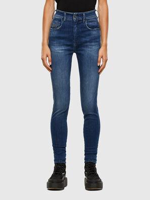 Slandy High 009FE, Dark Blue - Jeans