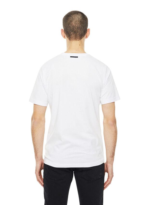 Diesel - TY-CRUISING, White - T-Shirts - Image 2