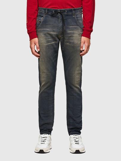 Diesel - KROOLEY JoggJeans® 069QE, Dark Blue - Jeans - Image 1