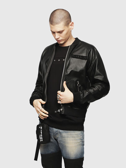 Diesel - L-PINS-A,  - Leather jackets - Image 1