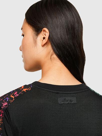 Diesel - T-LOL, Black - T-Shirts - Image 5