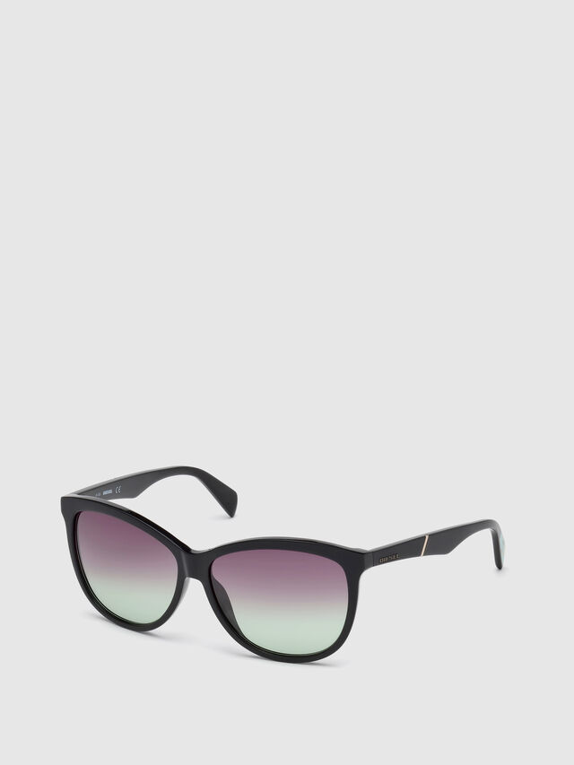 Diesel - DL0221, Black - Sunglasses - Image 4