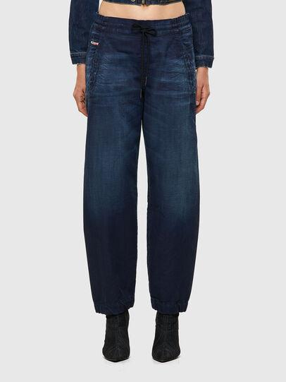Diesel - Krailey JoggJeans® 069WS, Dark Blue - Jeans - Image 1