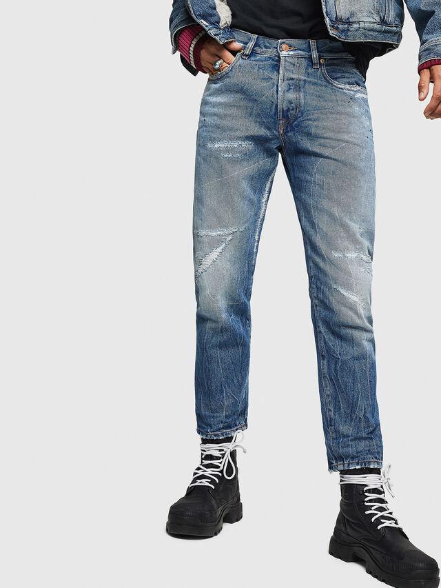 Diesel - Mharky 0078B, Dark Blue - Jeans - Image 1