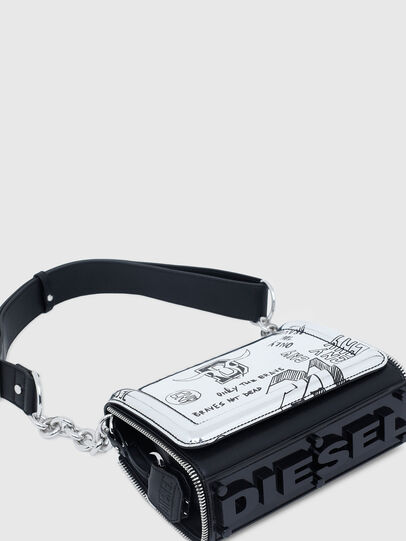 Diesel - CL - YBYS S CNY, Silver - Crossbody Bags - Image 7