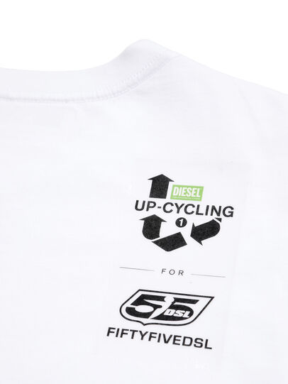 Diesel - D-5055-W, White - T-Shirts - Image 5