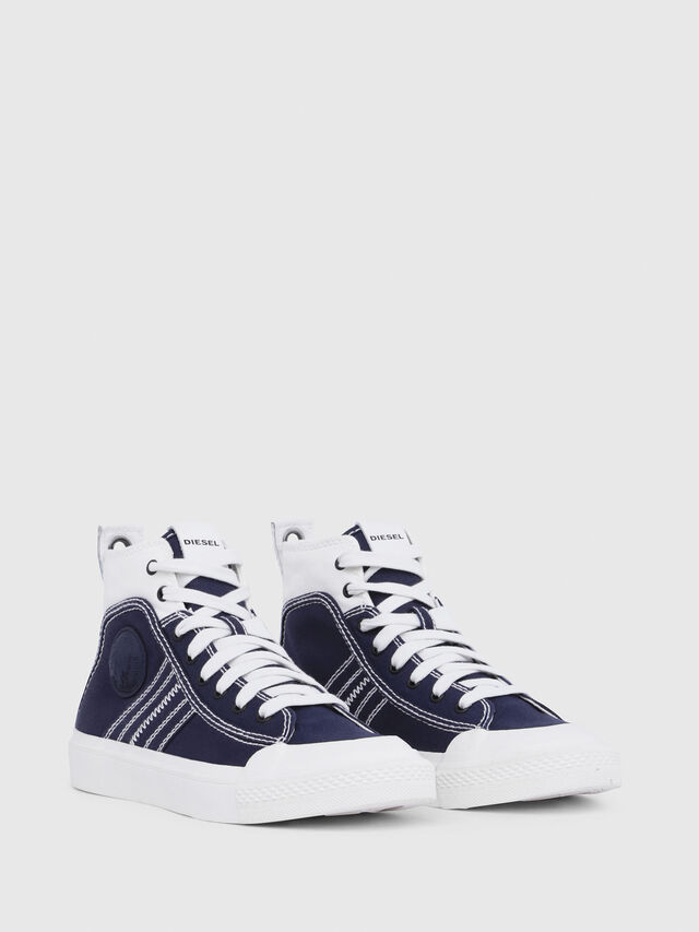 Diesel - S-ASTICO MID LACE W, Blue/White - Sneakers - Image 2