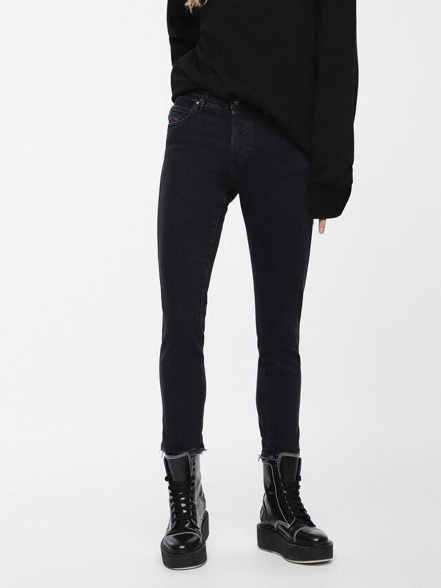 Diesel Babhila 084NX, Black/Dark grey - Jeans - Image 1