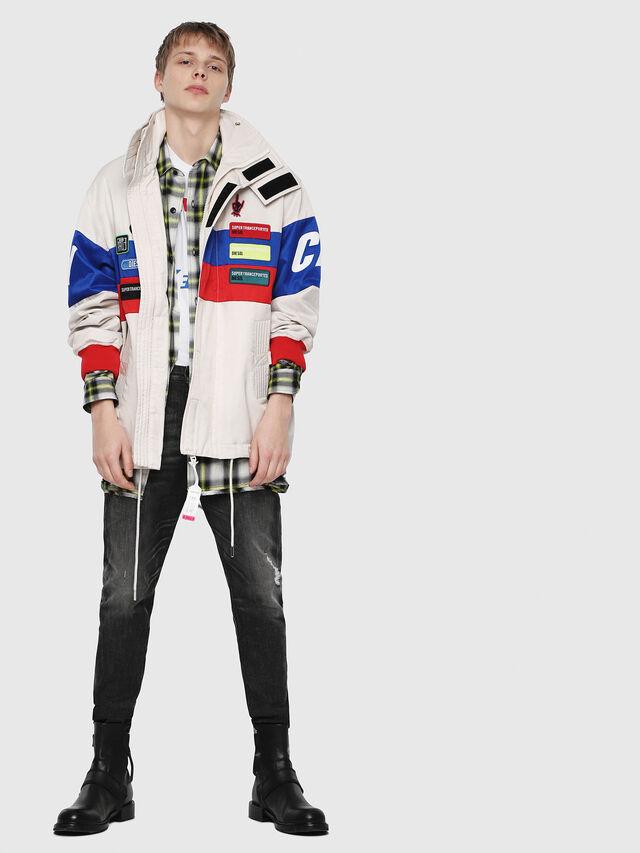 Diesel - J-AZUMA, Multicolor/White - Jackets - Image 6