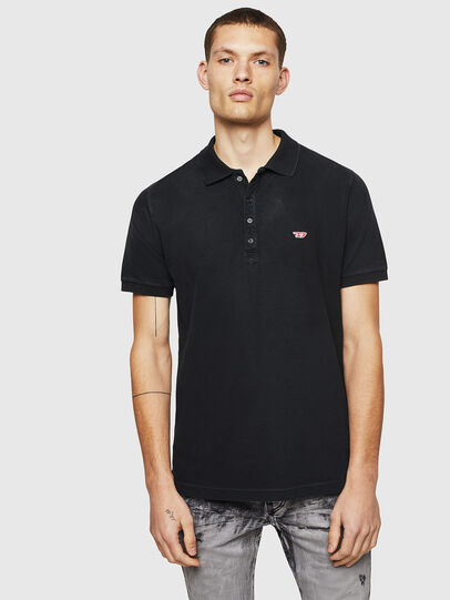 Diesel - T-NIGHT-NEW, Black - Polos - Image 1