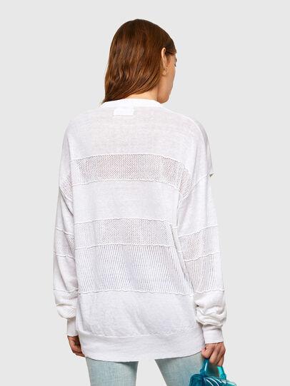 Diesel - M-AMETHYST, White - Knitwear - Image 2