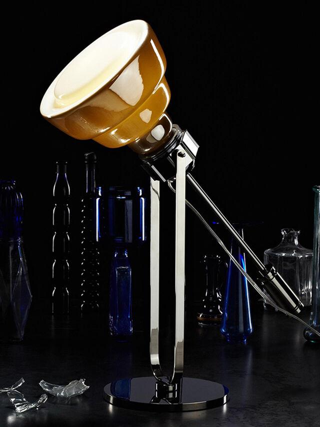 Diesel - GLAS TAVOLO CROMO, Silver - Table Lighting - Image 2