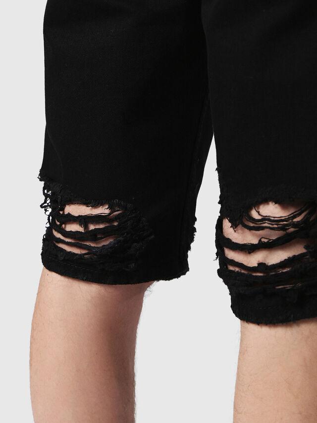 Diesel - THOSHORT, Black Jeans - Shorts - Image 5