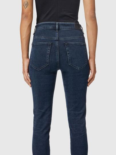 Diesel - Slandy High 009QF, Dark Blue - Jeans - Image 4