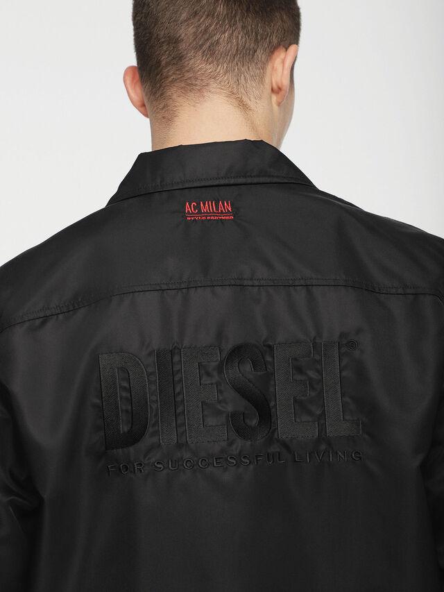 Diesel - DVL-JPLAZA-CAPSULE, Black - Jackets - Image 3