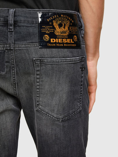 Diesel - D-Reeft JoggJeans® 009SU, Black/Dark grey - Jeans - Image 4