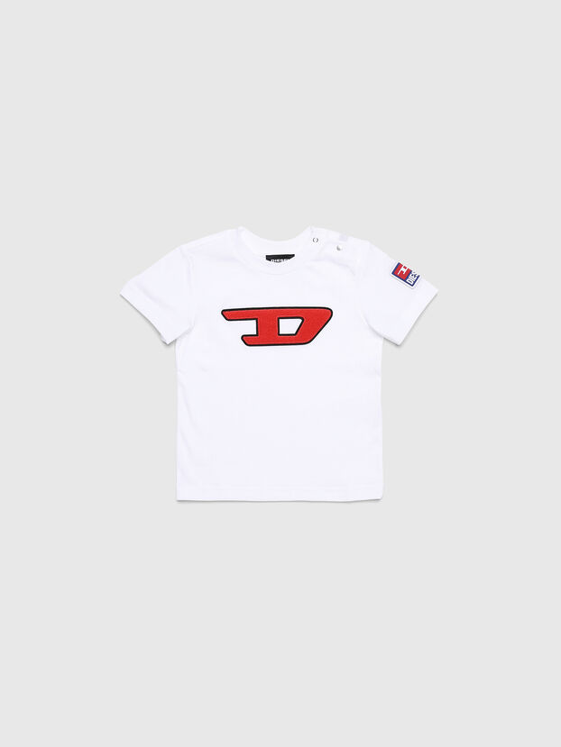 TJUSTDIVISIONB-D, White - T-shirts and Tops