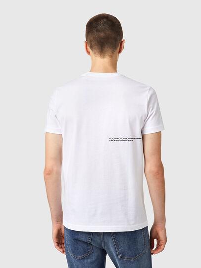 Diesel - T-DIEGOS-B21, White - T-Shirts - Image 2