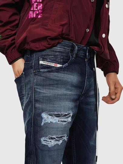 Diesel - Thommer JoggJeans 069JF, Dark Blue - Jeans - Image 3