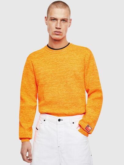 Diesel - K-SPECIALS, Orange - Knitwear - Image 4
