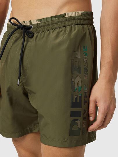 Diesel - BMBX-WAVE-X, Military Green - Swim shorts - Image 3