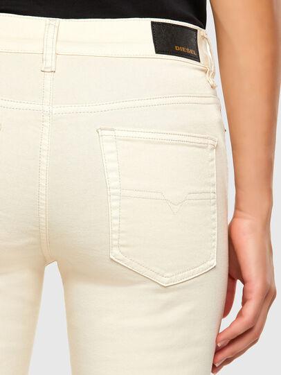 Diesel - D-Roisin 0096H, White - Jeans - Image 4