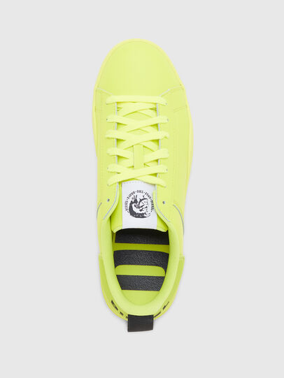 Diesel - S-CLEVER LOW LACE, Yellow - Sneakers - Image 5