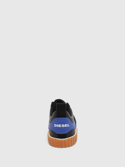 Diesel - S-BULLY LC, Black/Blue - Sneakers - Image 6