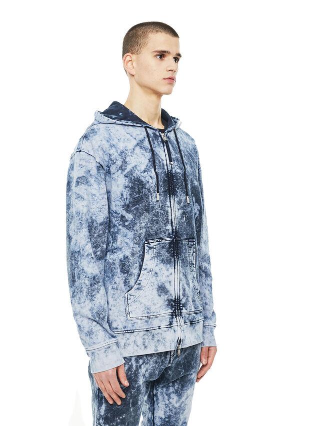Diesel - FYOVER, Blue/White - Sweaters - Image 5