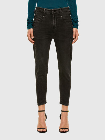 Diesel - FAYZA JoggJeans® 009HM, Black/Dark grey - Jeans - Image 1