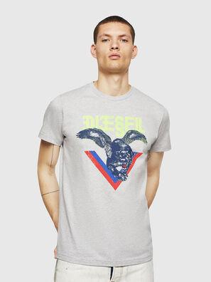 T-DIEGO-A4, Light Grey - T-Shirts