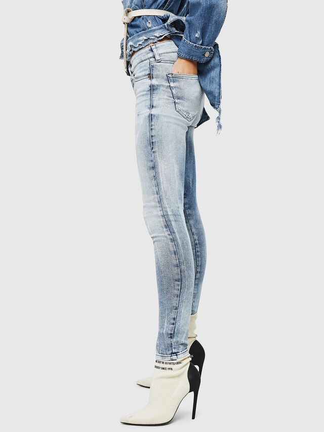 Diesel - Slandy 083AR, Light Blue - Jeans - Image 4