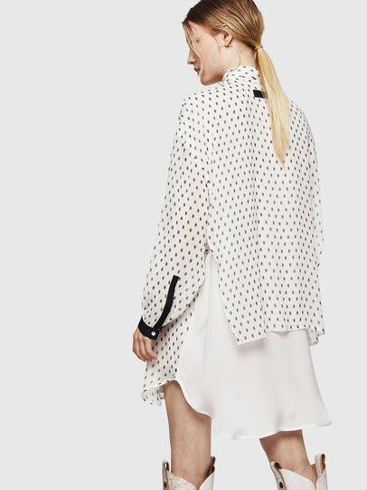 Diesel - D-OLYZZ, White/Black - Dresses - Image 2