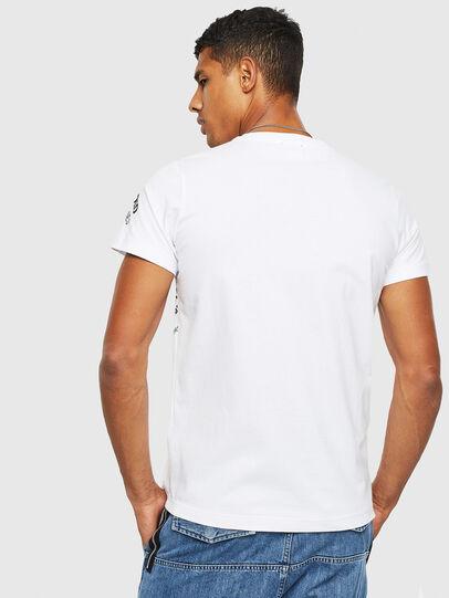 Diesel - T-DIEGO-S3, White - T-Shirts - Image 2