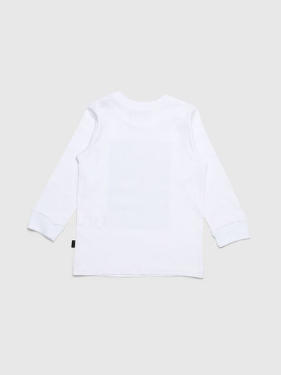 Diesel - TRAVEB-R, White - T-shirts and Tops - Image 2