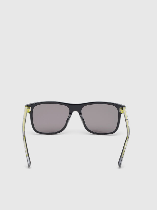 Diesel - DL0279, Black/Yellow - Sunglasses - Image 4