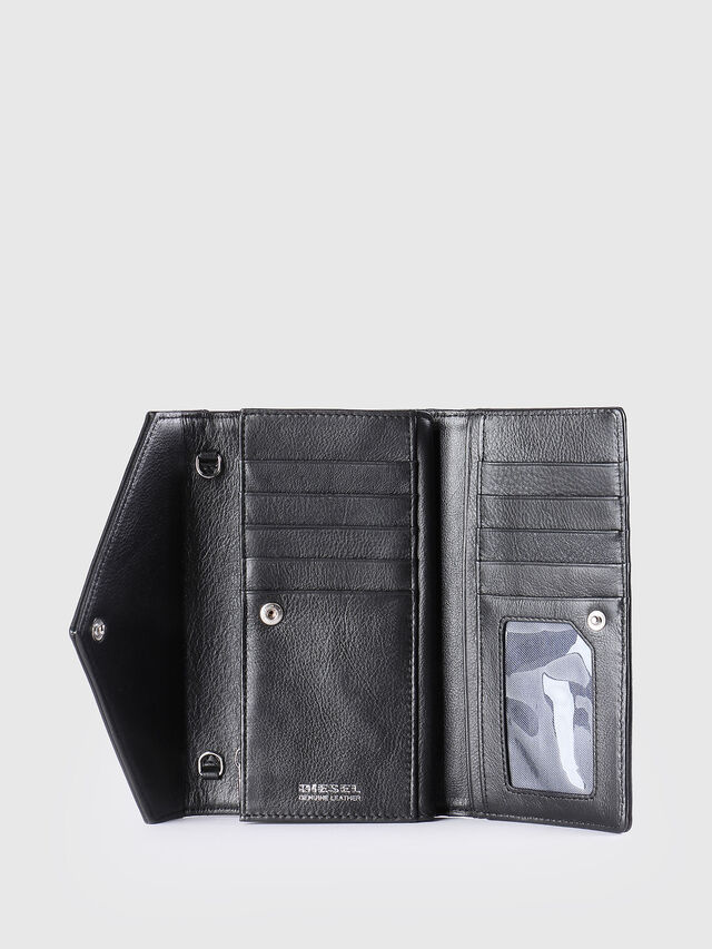 Diesel - GIPSI, Black - Small Wallets - Image 3