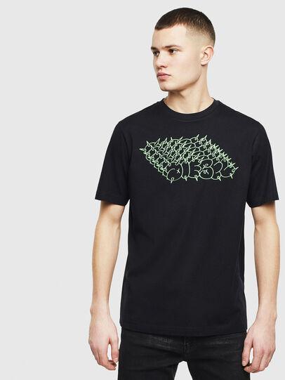 Diesel - T-JUST-T20, Black - T-Shirts - Image 1