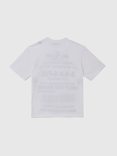 Diesel - TBALLX2 OVER, White - T-shirts and Tops - Image 2