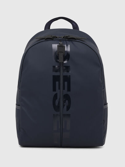 Diesel - BOLD BACK II, Dark Blue - Backpacks - Image 1