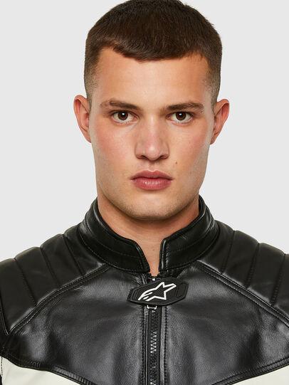 Diesel - ASTARS-LDUE-B,  - Leather jackets - Image 3